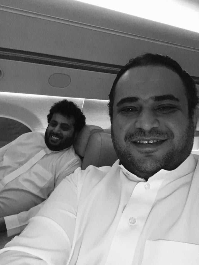 مع أخوي الغالي سعود في رحلة عمل 🛩🛫✈️🛬 @s...