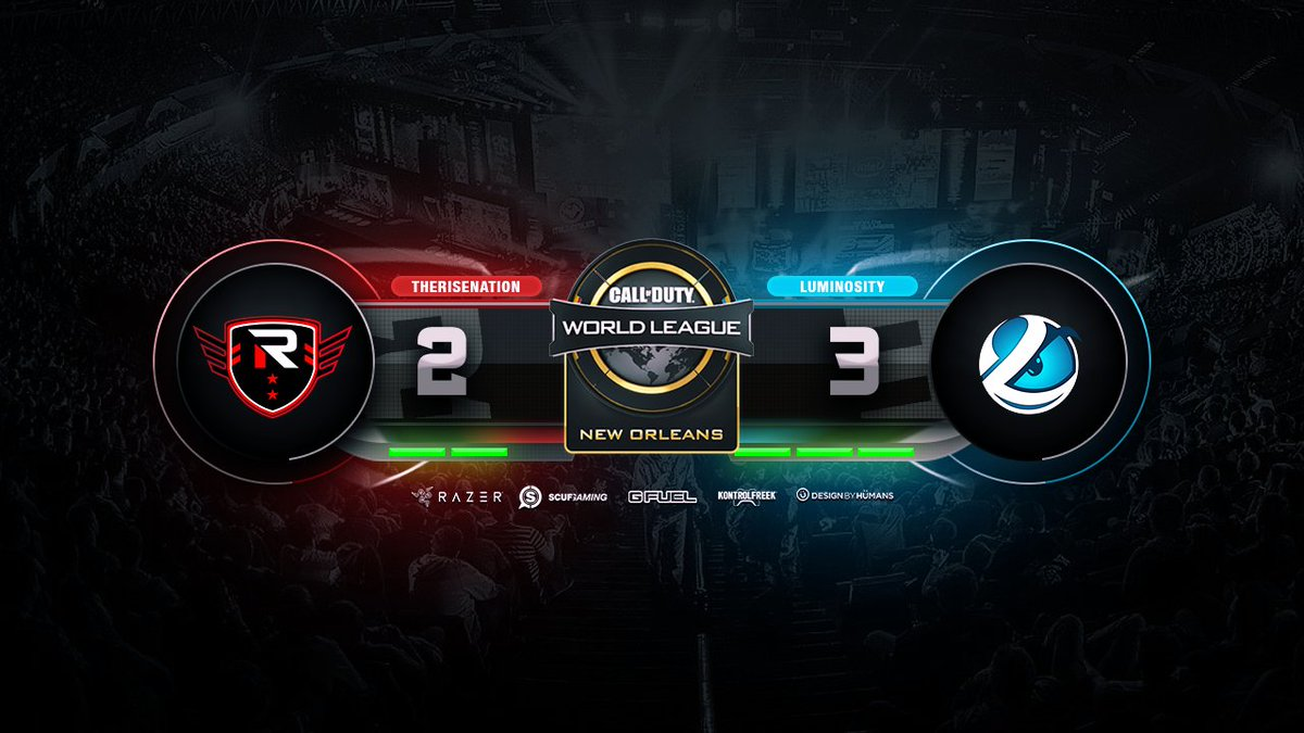 #RISECOD fall to @Luminosity on London D...