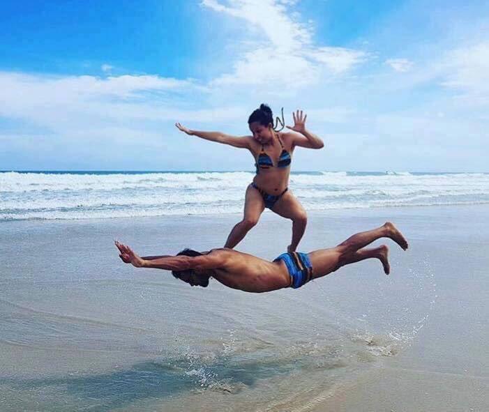 ผลการค้นหารูปภาพสำหรับ ideias de fotos para tirar na praia