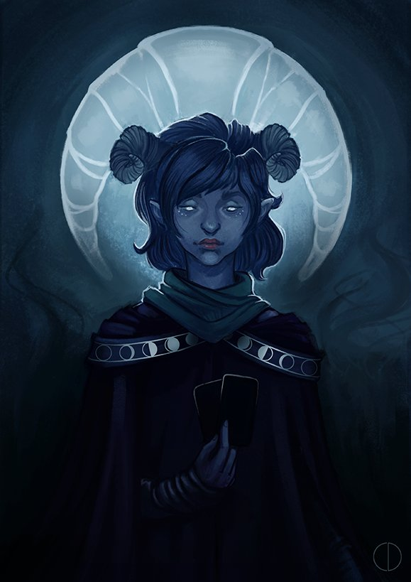 Liam O Brien On Twitter She S Not Actually A Tiefling She S A