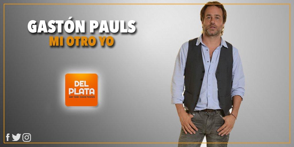 RT @RadioDelPlata: [AIRE] Comienza #MiOtroYo con Gastón Pauls ¿Venis? Te esperamos! https://t.co/b6q1ZjtC2S https://t.co/UhUnQxkja5