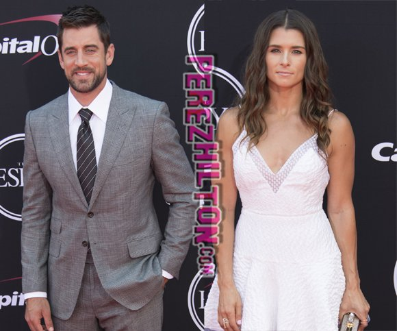 Whoa! #AaronRodgers and #DanicaPatrick are reportedly dating: