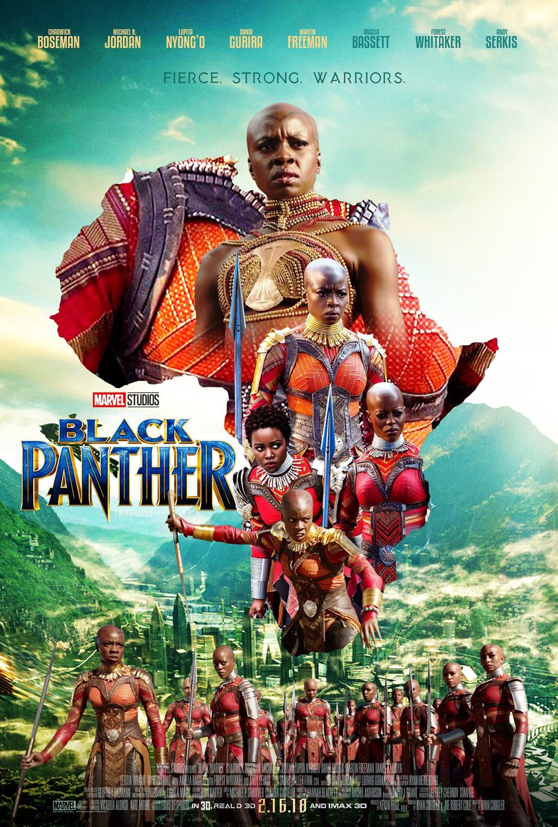 These #BlackPanther posters though 😍