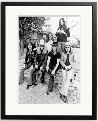 Happy Birthday to Ronnie Van Zant of Lynyrd Skynyrd. The band photographed in 1974.