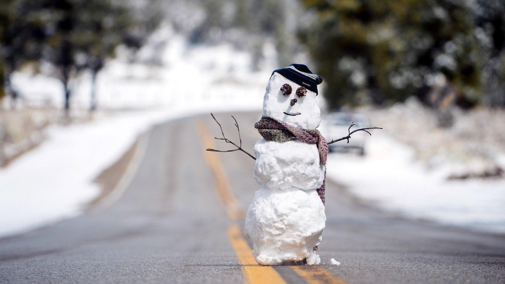 Смешные картинка про зиму