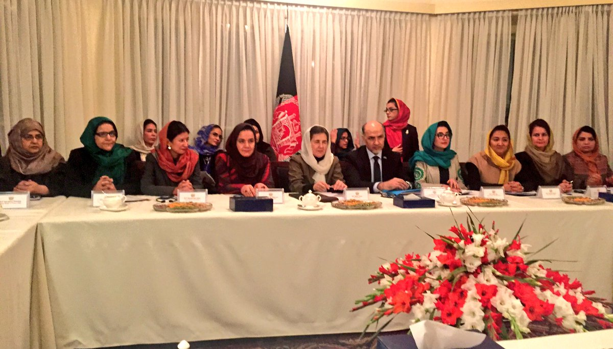 We got a great briefing on the status of women empowerment in #Afghanistan during UN Security Council visit.  Incredible progress since Taliban-era.