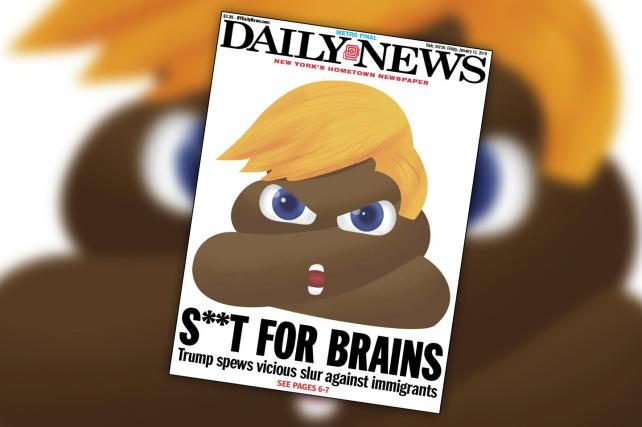 The Daily News' Trump #S***holegate front page is super sh***ty https://t.co/6rvT6Dgt9L https://t.co/YlBrPw4AeT
