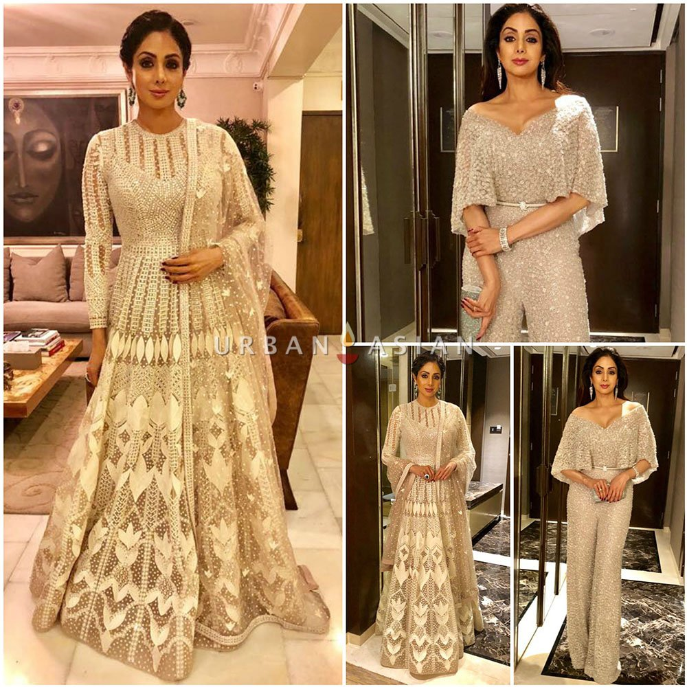 RT @UrbanAsian: The ever stylish @SrideviBKapoor is stealing the show in these @falgunishanepea ensemble. https://t.co/8xTfPXflso