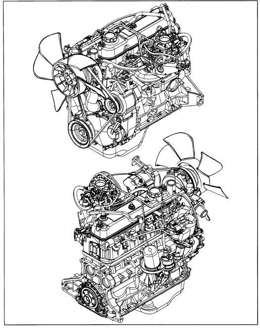 Toyota 4y Engine repair manual