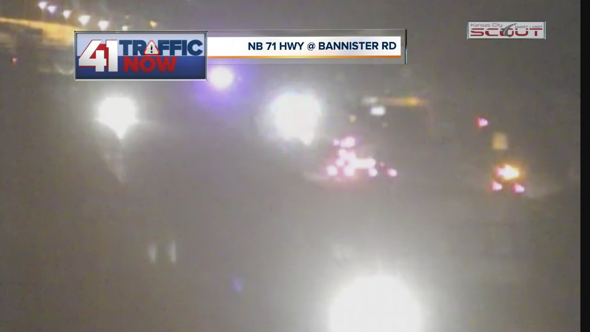Jade DeGood On Twitter ALERT Accident NB 71 Hwy Bannister Rd Use Caution Through Area KCMO KCTraffic