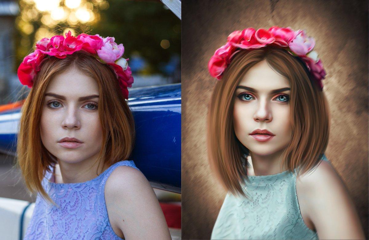 Красивая обработка фотографий цветогармонизация вакуум укрепляет