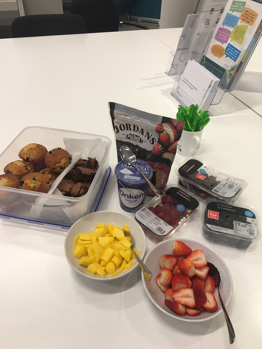 RT @LP_Emmabull Kicking off #bluemonday @LP_localgov with a heathy(ish) breakfast