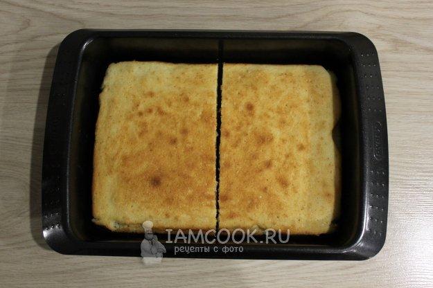 Бисквитный торта рецепт