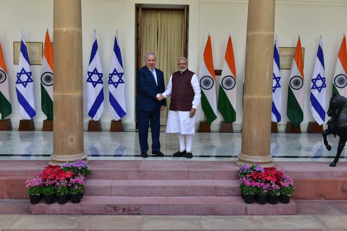 ભારત અને ઇઝરાયેલ વચ્ચે 9 કરાર પર હસ્તાક્ષર