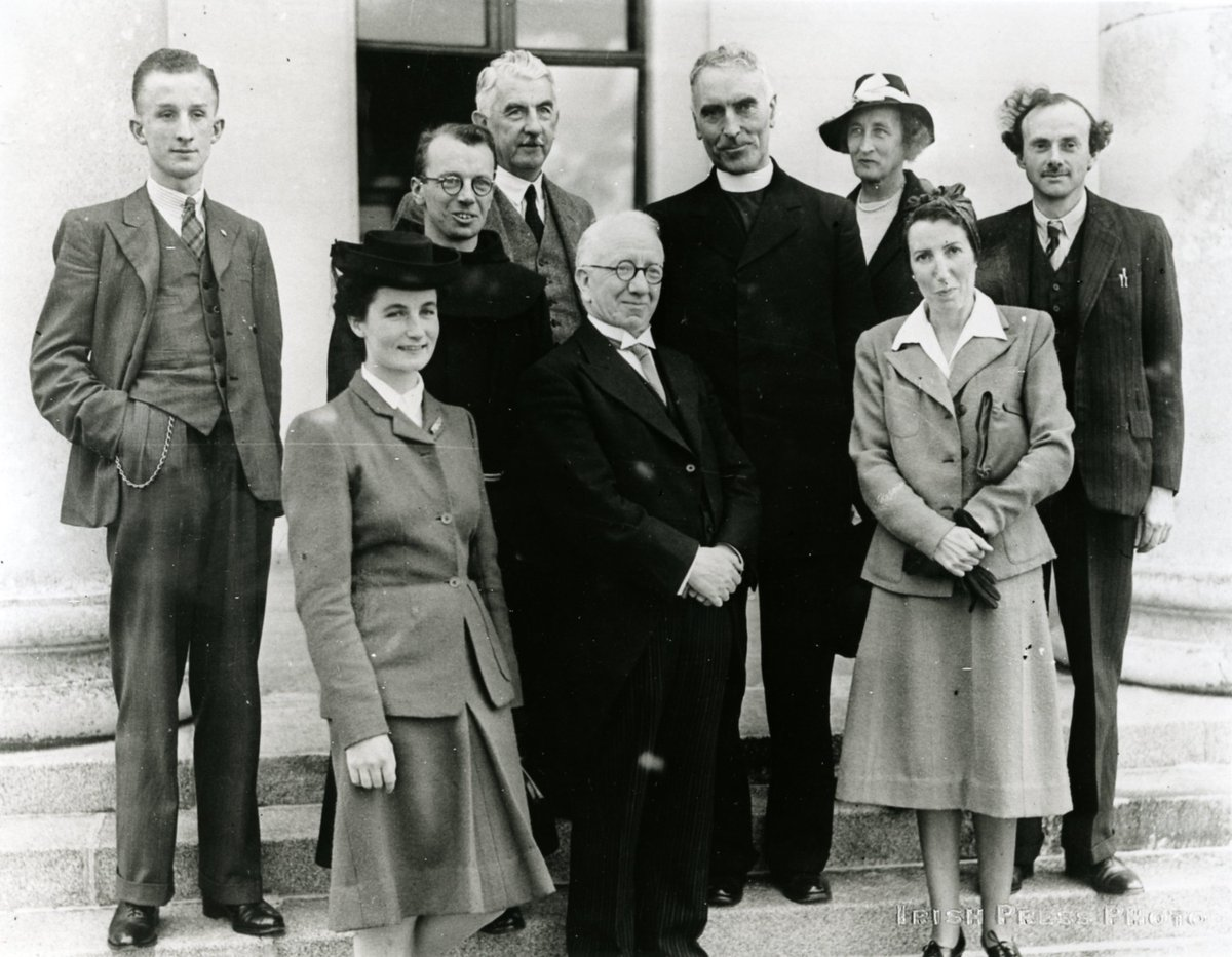 test Twitter Media - Born OTD 1918 Sheila Tinney  - one of the first scholars of the School of Theoretical Physics @StpDias at #DIASDublin and one of the first Research Associates at #DIASDublin. 2nd from left at Aras visit 1945 https://t.co/Cj7ZEE12eH