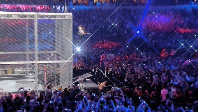 Happy Birthday to Shane McMahon, who is famous for falling from high places.