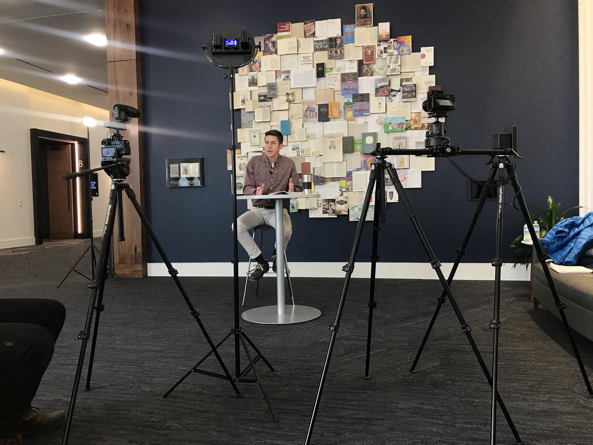 test Twitter Media - We are filming our Adult Gathering Bible study videos this morning! This summer adults will hear from one of our long-time Directors and Camp Pastors, Will Snipes! We look forward to another great summer of diving into scripture with our group leaders and adults. https://t.co/bYDiUuj9S9