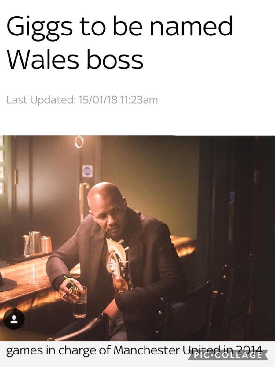 You lot are funny you know,you love to take the piss out of me😂😂😂😂 about Wales manager😂😂😂😂