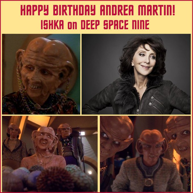 Happy birthday, Moogie! Wishing Andrea Martin a profitable day.