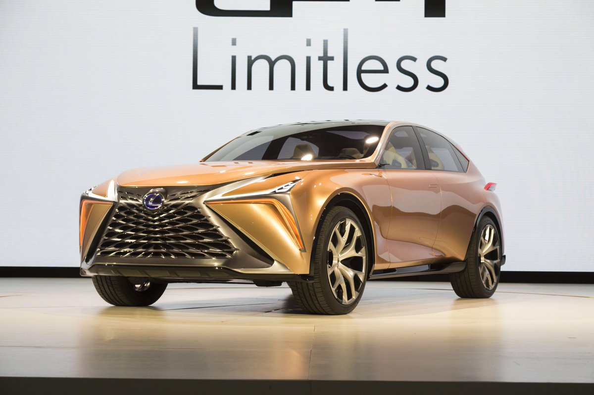 edmunds on twitter lexus lf1 limitless concept at unveiled at detroitautoshow the flagship. Black Bedroom Furniture Sets. Home Design Ideas