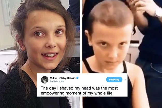 Millie Bobby Brown 10 Actors Who Shaved Their Heads For Different Roles Share Their Experience
