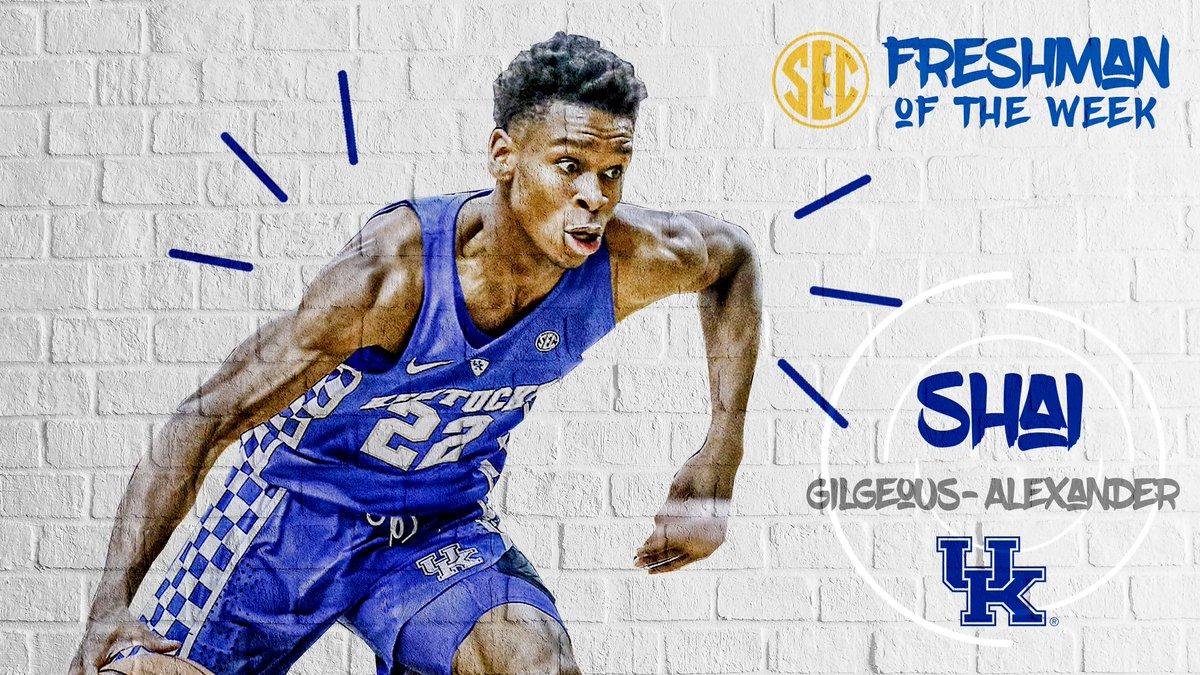 Kentucky Basketball Fox Named Sec Freshman Of The Week: Kentucky Sports Radio