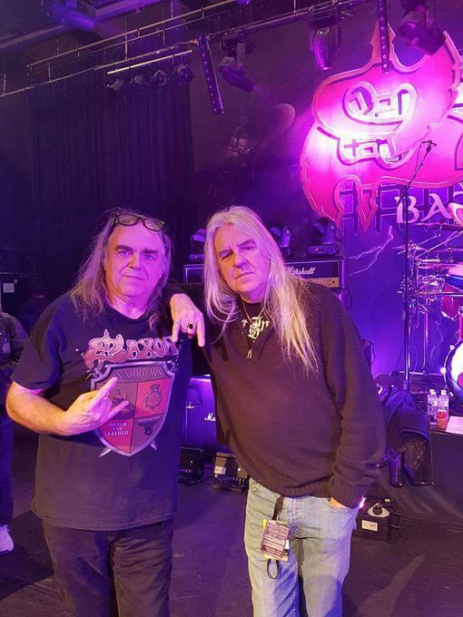 Happy birthday Biff. Keep rocking my friend. Hope to see saxon soon again.