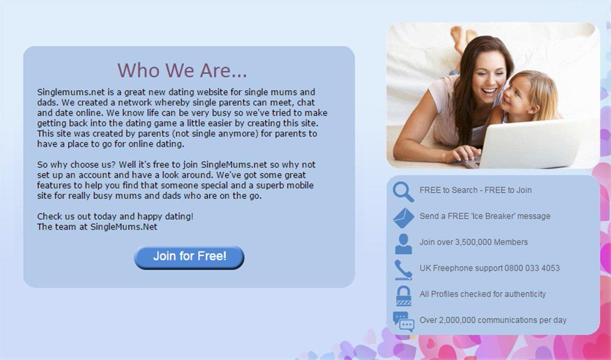 dating websites for single parents