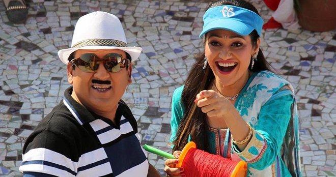 Daya and Jethalal in Tarak Mehta images pics