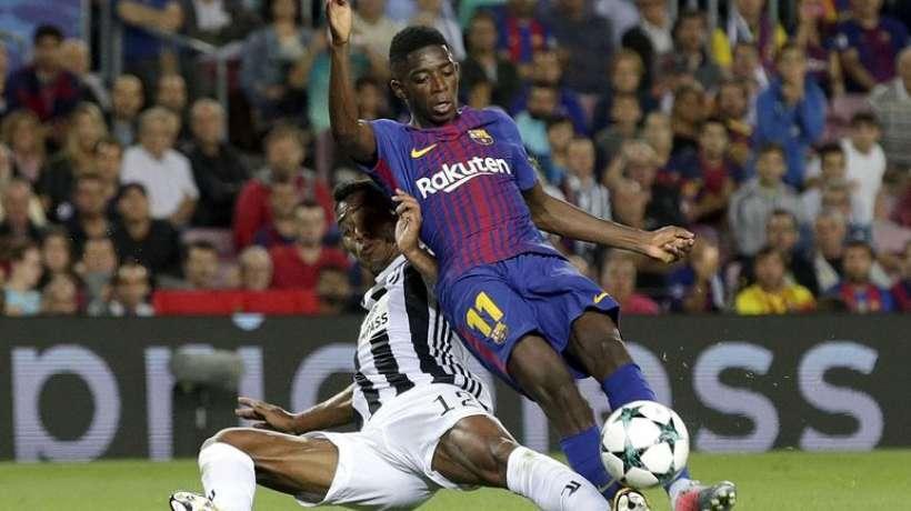 Ousmane Dembélé absent 3/4 semaines selon un communiqué du FC Barcelone