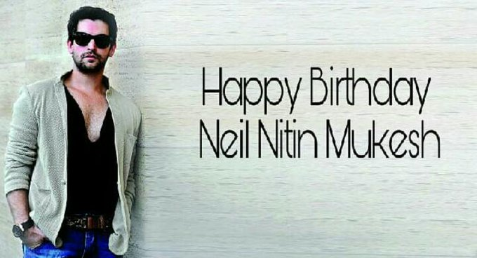 Here\s wishing the hansdsome actor Neil Nitin Mukesh, a very happy birthday!