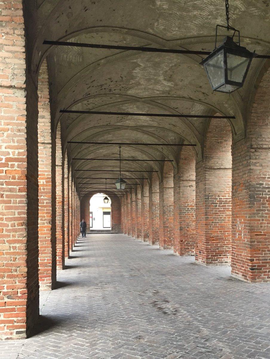 Portico della Galleria degli Antichi....