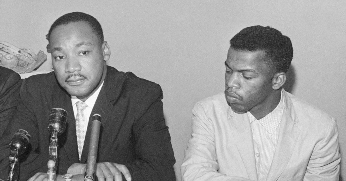 Dr. King was my friend, my brother, my leader. He was the moral compass of our nation and he taught us to recognize the dignity and worth of every human being. #goodtrouble