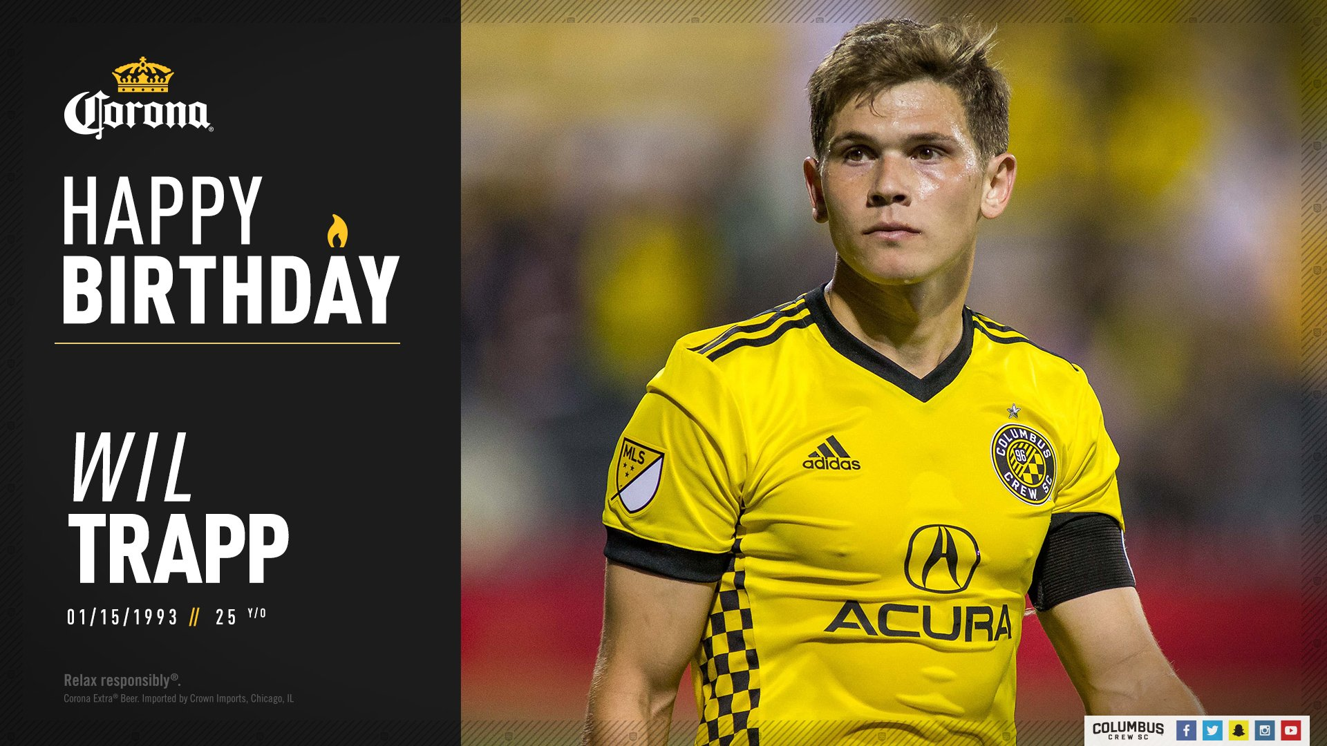 Happy Birthday to our captain,