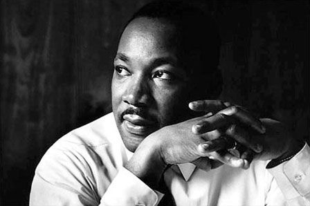 'Darkness cannot drive out darkness; only light can do that. Hate cannot drive out hate; only love can do that.' -Martin Luther King Jr.