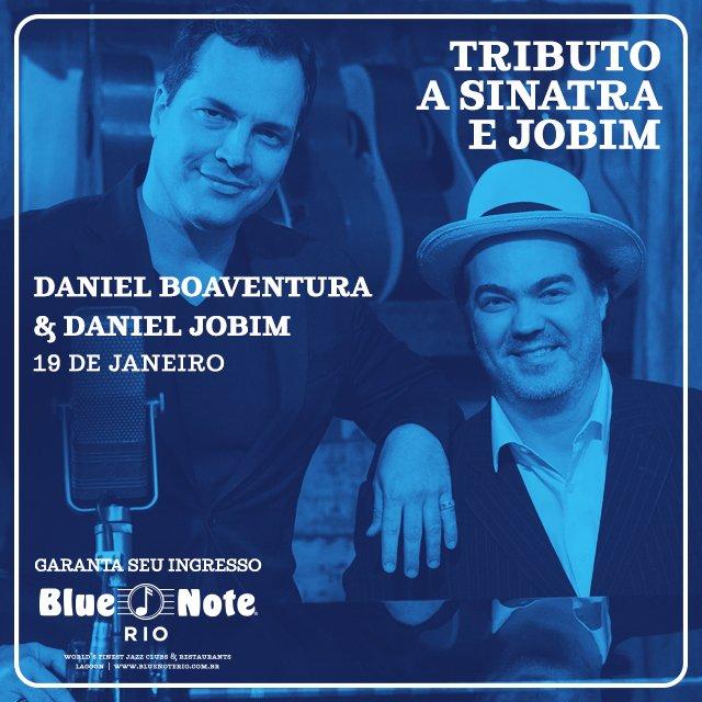Dia 19 de janeiro, no Blue Note, no Rio de Janeiro, eu e Daniel Jobim faremos uma homenagem a Frank Sinatra e Tom Jobim. Adquira seu ingresso em: https://t.co/dOgiJrTsDh
