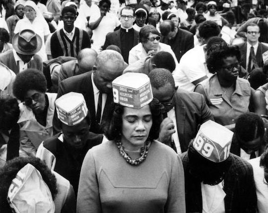 As you honor my father today, please remember and honor my mother, as well. She was the architect of the King Legacy and founder of @TheKingCenter, which she founded two months after Daddy died. Without #CorettaScottKing, there would be no #MLKDay. #MLK50Forward #MLK