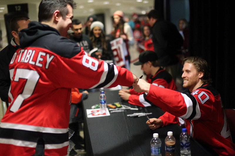 Had a great time meeting @NJDevils seaso...