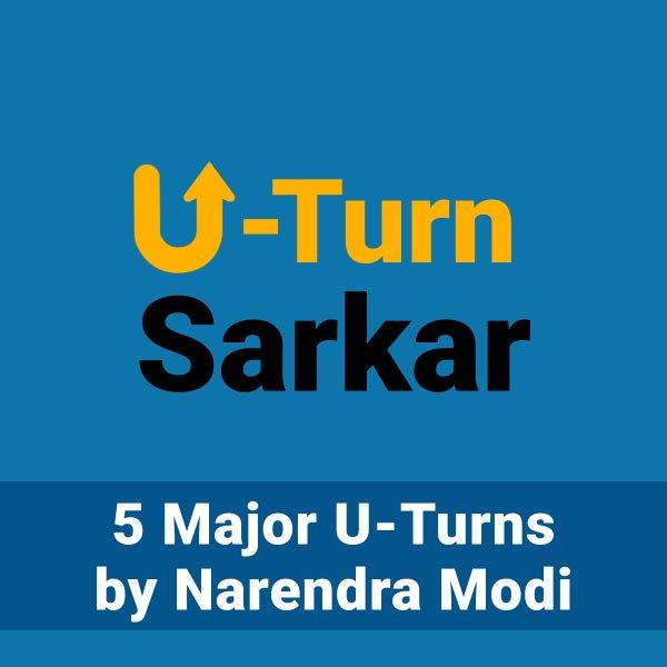 RT @INCIndia: Why does Modi disagree with Modi? #UTurnSarkar https://t.co/qE7NqGMQEr