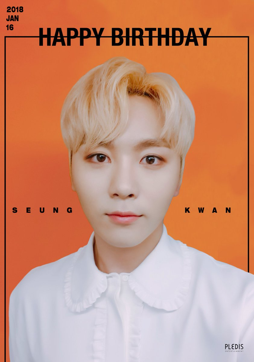 20180116 Happy SEUNGKWAN's Day♥ #Happy_S...