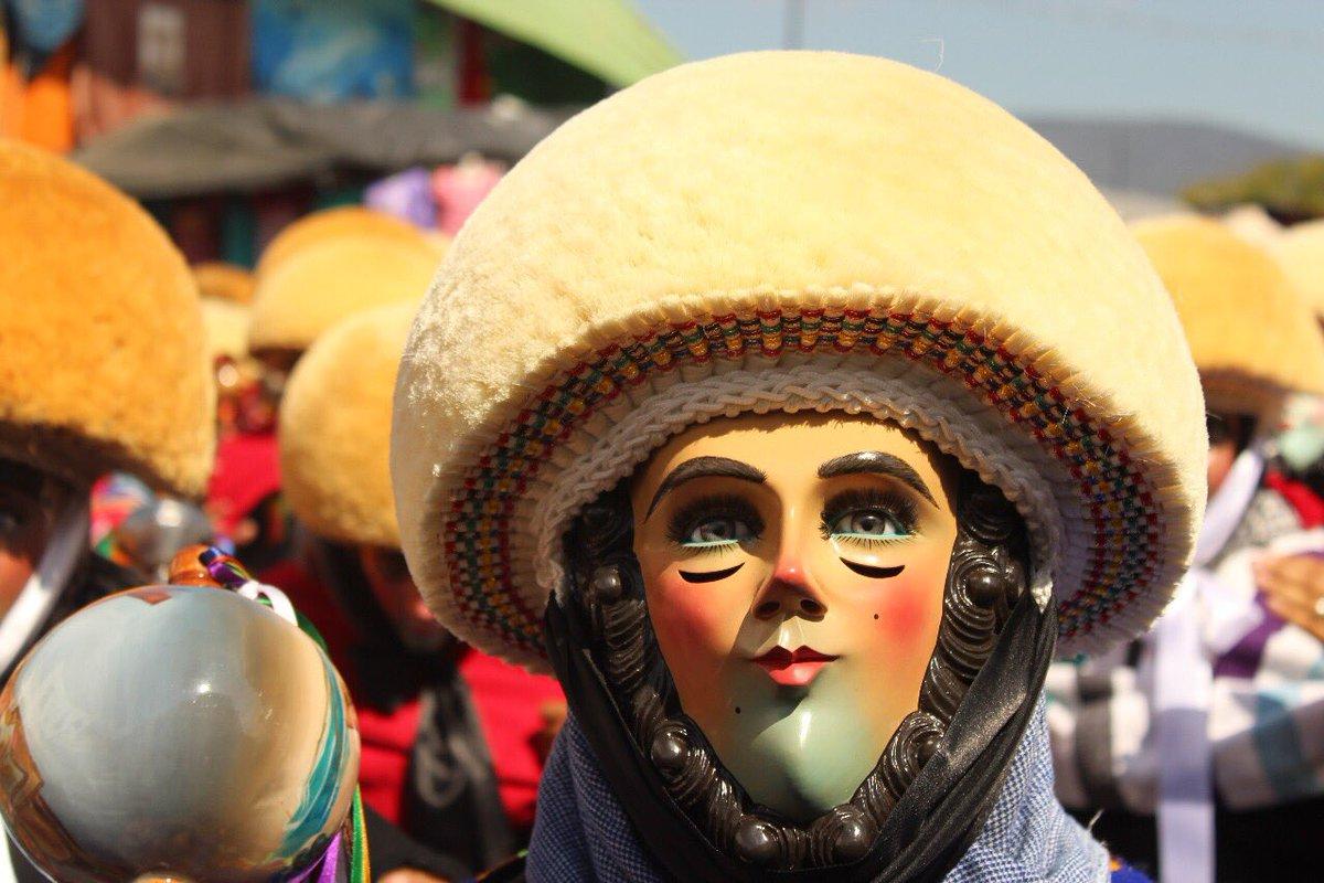 Máscara de los parachicos.