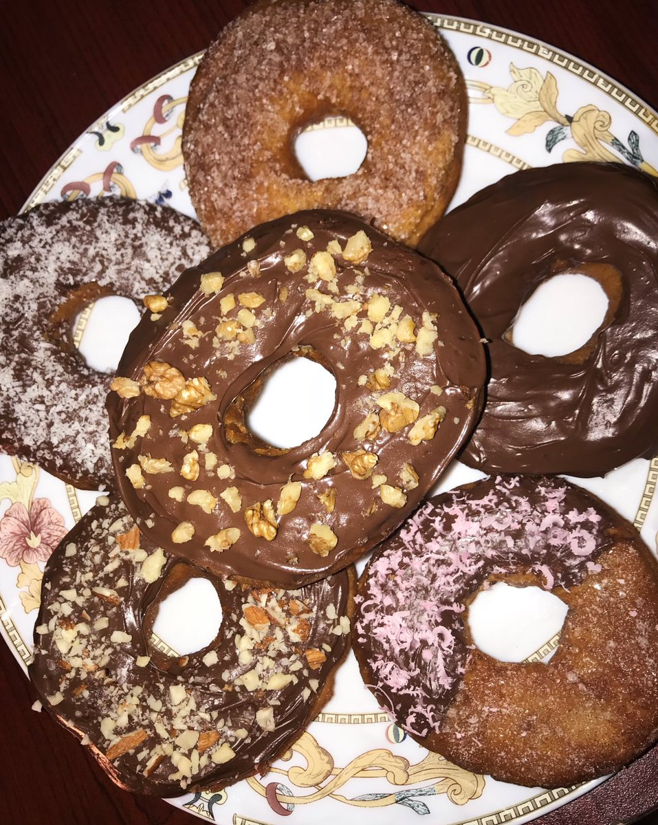 They turned out soooo goood! 🍩😻 https://...