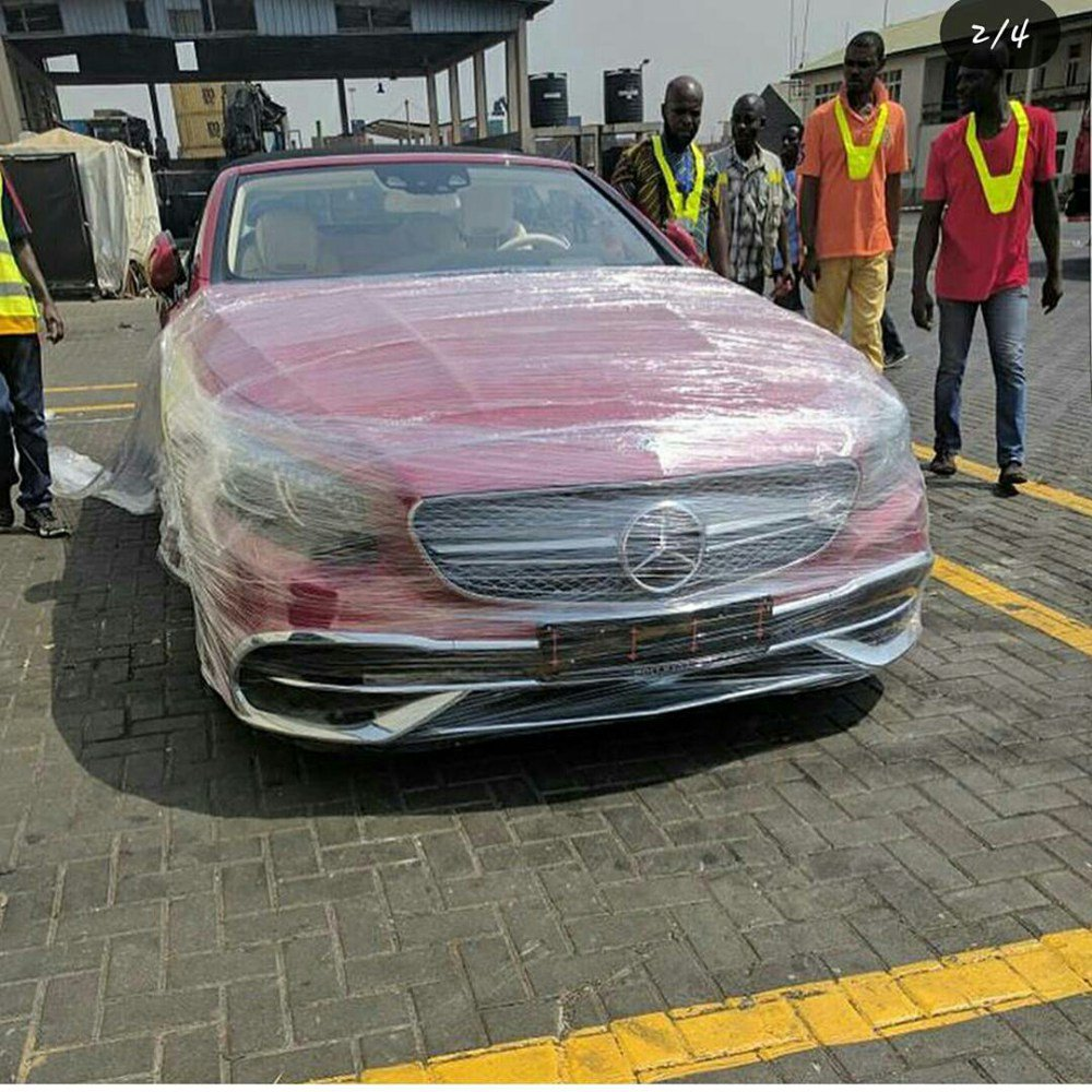 Osei Kwame Despite begins 2018 luxuries...