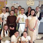 Image for the Tweet beginning: Sixth graders wrapped up their