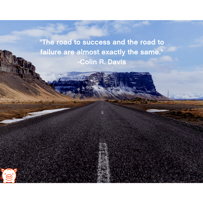 failure road to success Today there are new messages about failure, enlivening messages that tell us not only is it unavoidable to fail, it is integral on the path to success.