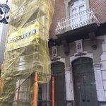 ⚠️Desde hoy estamos de obras en nuestra sede de la calle Jara. Se van a reparar los miradores del edificio, obra que durará un mes aproximadamente.🚧