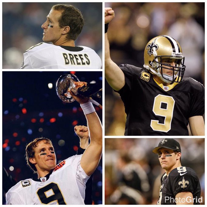 Happy 39th Birthday to my Quarterback! The incomparable Drew Brees