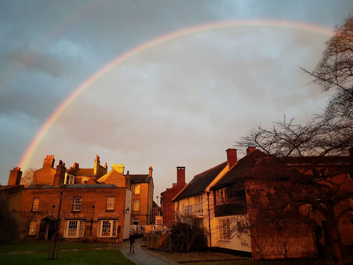 Magdalene College On Twitter Whats At The End Of The Rainbow