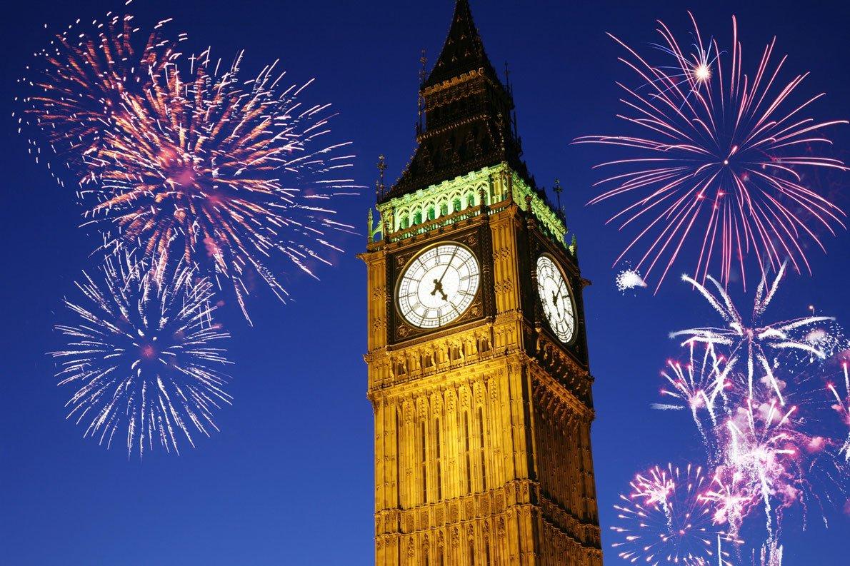 новый год в англии с картинками