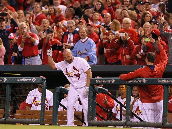 Happy birthday to a fan-favorite in St. Louis.... Mr. Matt Holliday!!